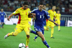 World Cup 2014 Preliminaries: Romania-Andorra Royalty Free Stock Images