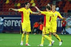 World Cup 2014 Preliminaries: Romania-Andorra Stock Image
