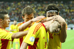 World Cup 2014 Preliminaries: Romania-Andorra Stock Images