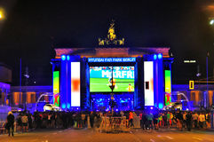 World Cup 2014, Berlin Germany Royalty Free Stock Images