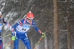 World cup biathlon - Jitka Landova Royalty Free Stock Images