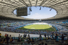 World Cup Brazil 2014 - Argentina 1 X 0 Iran Stock Images
