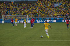 World Cup Brazil 2014 - Brazil 1 X 1 Chile Stock Photos