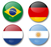World cup brazil 2014 Stock Image