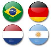 World cup brazil 2014. Fifa world cup 2014 semi final Stock Image