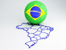 World Cup Brazil 2014 Royalty Free Stock Photos