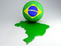 World Cup Brazil 2014 Royalty Free Stock Photography