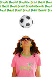 Woman Heading Soccer Ball Royalty Free Stock Images