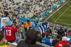 World Cup Brazil 2014 - Uruguay 2 X 1 England Royalty Free Stock Photography
