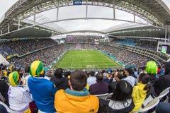 World Cup Brazil 2014 - Uruguay 2 X 1 England Stock Photos
