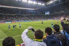 World Cup Brazil 2014 - Uruguay 2 X 1 England Stock Photo