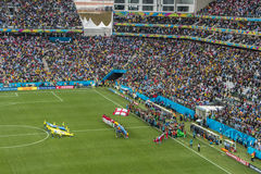 World Cup Brazil 2014 - Uruguay 2 X 1 England Royalty Free Stock Photos