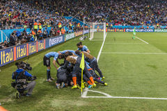 World Cup Brazil 2014 - Uruguay 2 X 1 England Stock Photo