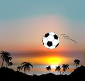 World Cup in Brazil. Vector illustration - 2014 World Cup in Brazil Stock Photos