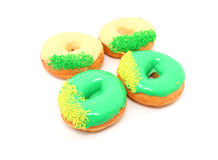 World Cup Concept Donuts Stock Photo