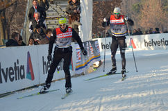 World Cup cross-country ski Stock Photo