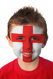 World Cup Face Paint - England Royalty Free Stock Image