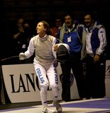 World Cup Foil Women Senior 2009, Fencing Royalty Free Stock Photography