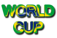 World Cup footbal concept Stock Image