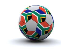 World cup football 2010. 3D render of world cup football 2010 vector illustration