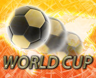 World cup football soccer Royalty Free Stock Photography