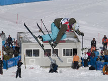 World cup freestyle ski Stock Image