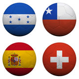 World Cup Group H Royalty Free Stock Image