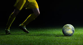 World Cup Kick Off Royalty Free Stock Photography