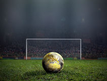 World Cup Kick Off. royalty free stock image