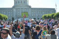 World Cup 2014 Madness In California Royalty Free Stock Photos