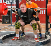 The 2014 world Cup powerlifting AWPC in Moscow. Royalty Free Stock Photography