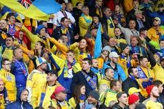 World Cup 2018 Qualifying: Iceland v Ukraine in Reykjavik Stock Images