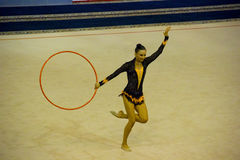 World Cup of Rhythmic Gymnastics 2012 Royalty Free Stock Images