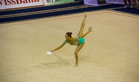World Cup of Rhythmic Gymnastics 2012 Stock Photos