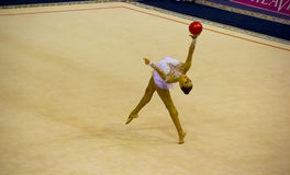 World Cup of Rhythmic Gymnastics 2012 Stock Image