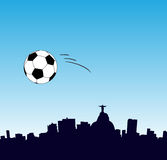 2014 World Cup in Rio. Vector illustration - 2014 World Cup in Rio Stock Image