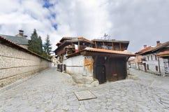 World cup ski tourist centre of Bansko Bulgaria Stock Photos