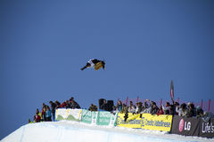 World Cup Snowboarding Royalty Free Stock Photo