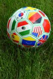 World Cup Soccer Ball Royalty Free Stock Photo