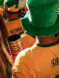 2014 World Cup soccer drinks Stock Photo