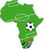 World cup south africa 2010. Illustration for world cup south africa 2010 Stock Photos