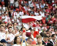 World Cup in  Spartak Stadium. Stock Images