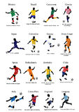 World Cup teams - 1 Stock Image