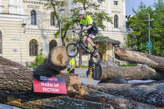 World Cup in Trial bicycles Royalty Free Stock Photography