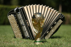 World cup trophy and bayan Stock Images