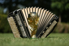 World cup trophy and bayan Royalty Free Stock Photo