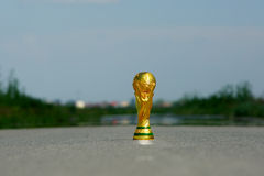 World cup trophy Royalty Free Stock Photography