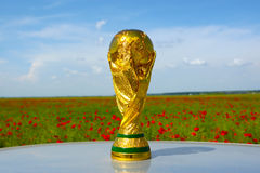 World cup trophy Stock Photo