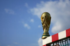 World cup trophy Stock Photos