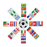 World cup vector Stock Photography